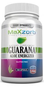 Maxzorb Guarana Aloe Energizer