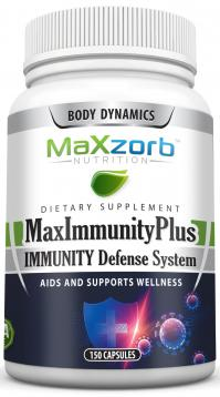 Maxzorb MaxImmunity Plus Available Now!